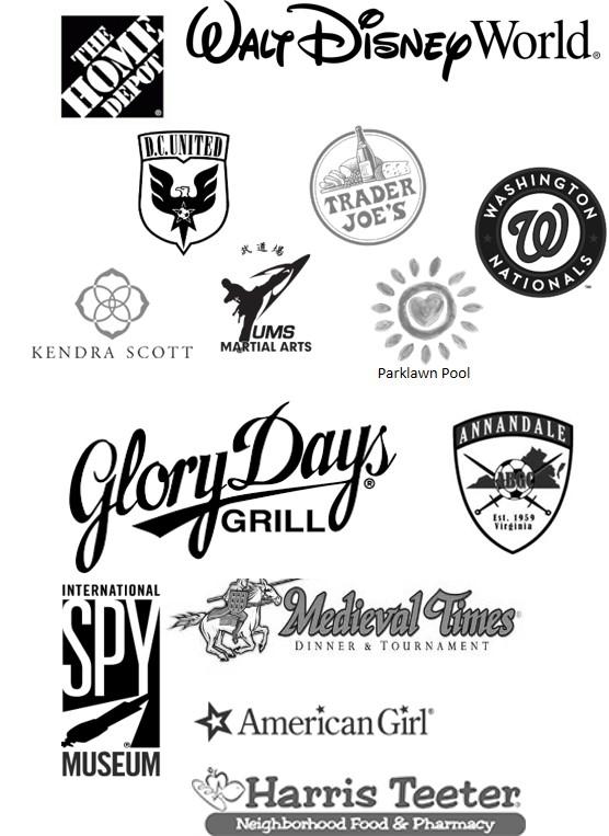 Bingo 2017 Sponsor Logos